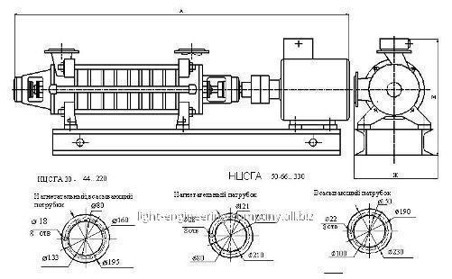 Агрегат электронасосный НЦСГА