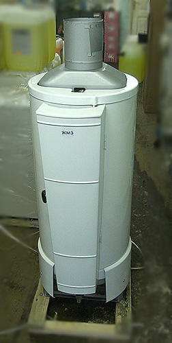 Аппарат отопительный газовый бытовой с водяным контуром АОГВ – 23М