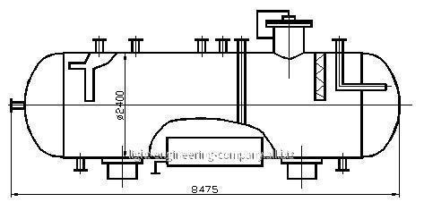 Дегазатор конденсата В-102, В-202