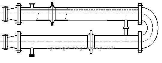 Подогреватель пароводяной для тепловых сетей по ТУ 400-28-429-82Е