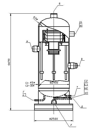 Сепаратор ВЖК 16-6,3 С-1 , ВЖК 20-4,0 С2