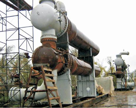 Теплообменник газ газ марка тп 94 600115 параметры рабочие расчет теплоотдачи поверхностных теплообменников