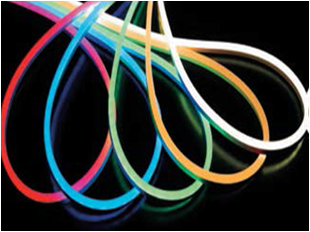 Buy Flexible SMD 3528 neon semi-professional, flex neon, neon cord, cold neon. All colors.