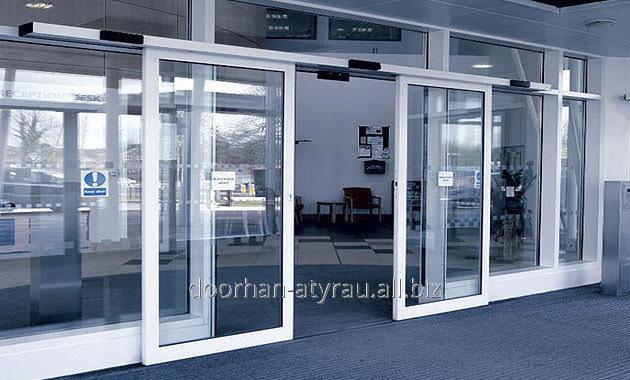 Купить Раздвижная автоматическая дверь двустворчатая 35 х400 мм