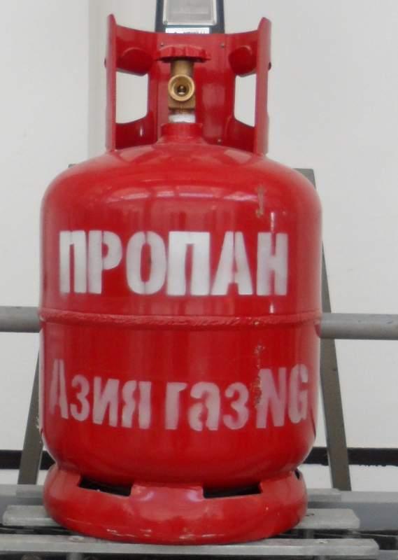 Купить Газ (бутан) в баллонах 27 литров производство Южная Корея. ОПТ