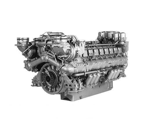 Дизельные двигатели MTU
