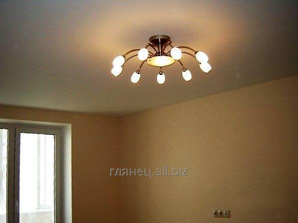 Купить Потолок натяжной матовый модель 3