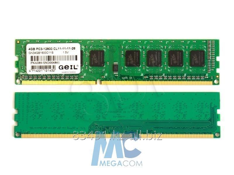 Купить Оперативная память 4GB DDR3 1600MHz Geil PC3-12800 GN34GB1600C11S OEM