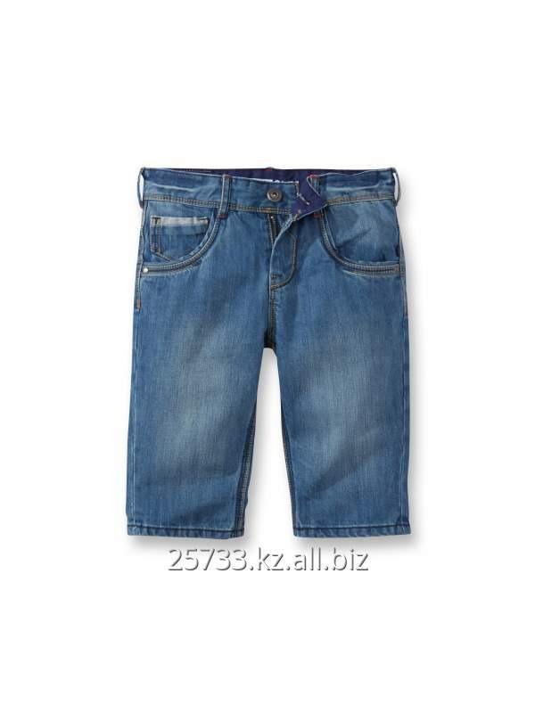 0ff6c0b36a Jeans for the boy of Okaïdi 75738 Bermuda en jean slim Denim bleu clair