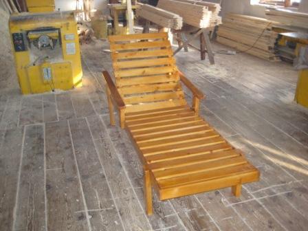 Купить Шезлонг деревянный