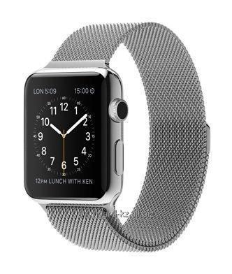 Купить Умные часы Apple Watch 42mm Stainless Steel Case with Milanese Loop MJ3Y2