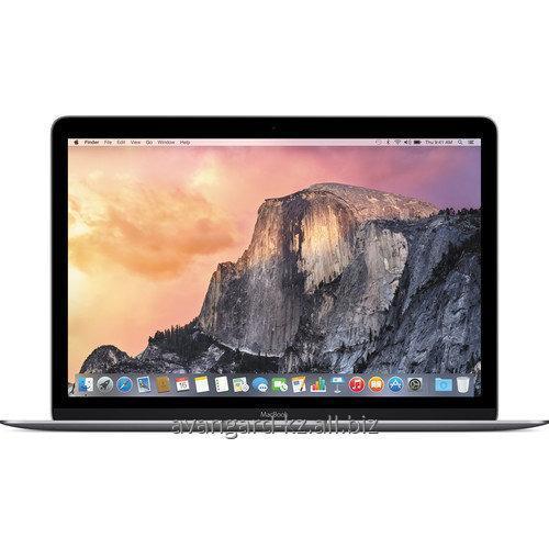 "Купить Ноутбук Apple MacBook 12"" 2015 MJY32RU/A Space Gray 256Gb"