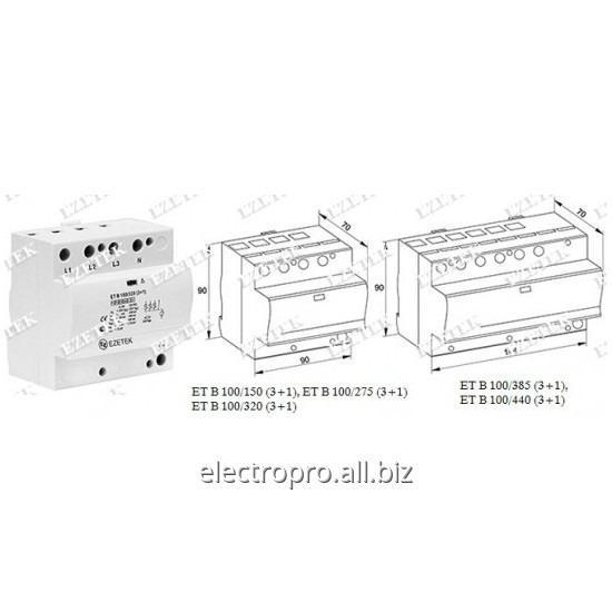 Buy Limiter of tension of ET B 100 Category I, II, III class / 1,2,3 type / B+C+ D Type of food of a network-TT