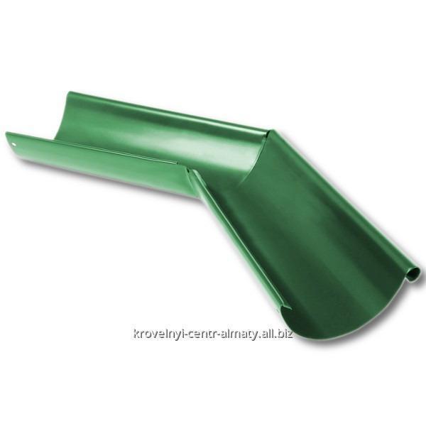 Угол желоба внутренний 90 гр. 125 мм, Комплектующие для водосточных систем
