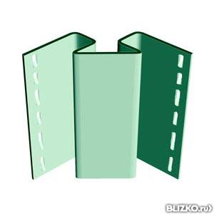 Внутренний угол цветной 3050 мм, Спецпланки