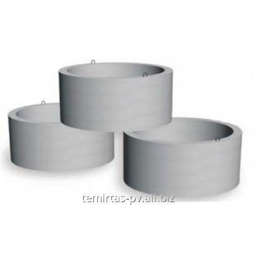 Кольцо смотровое стеновое плита дорожная 1п 60