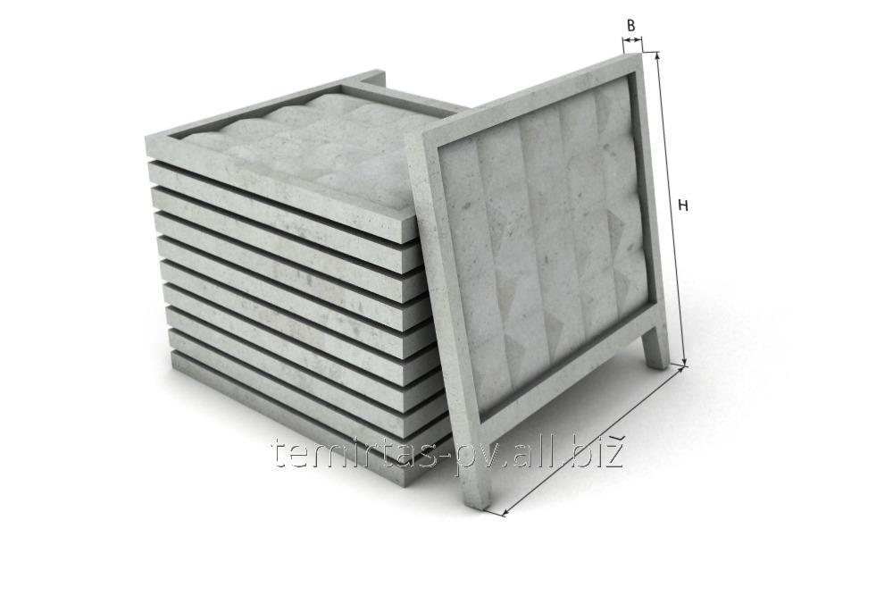 Buy Fence of concrete goods