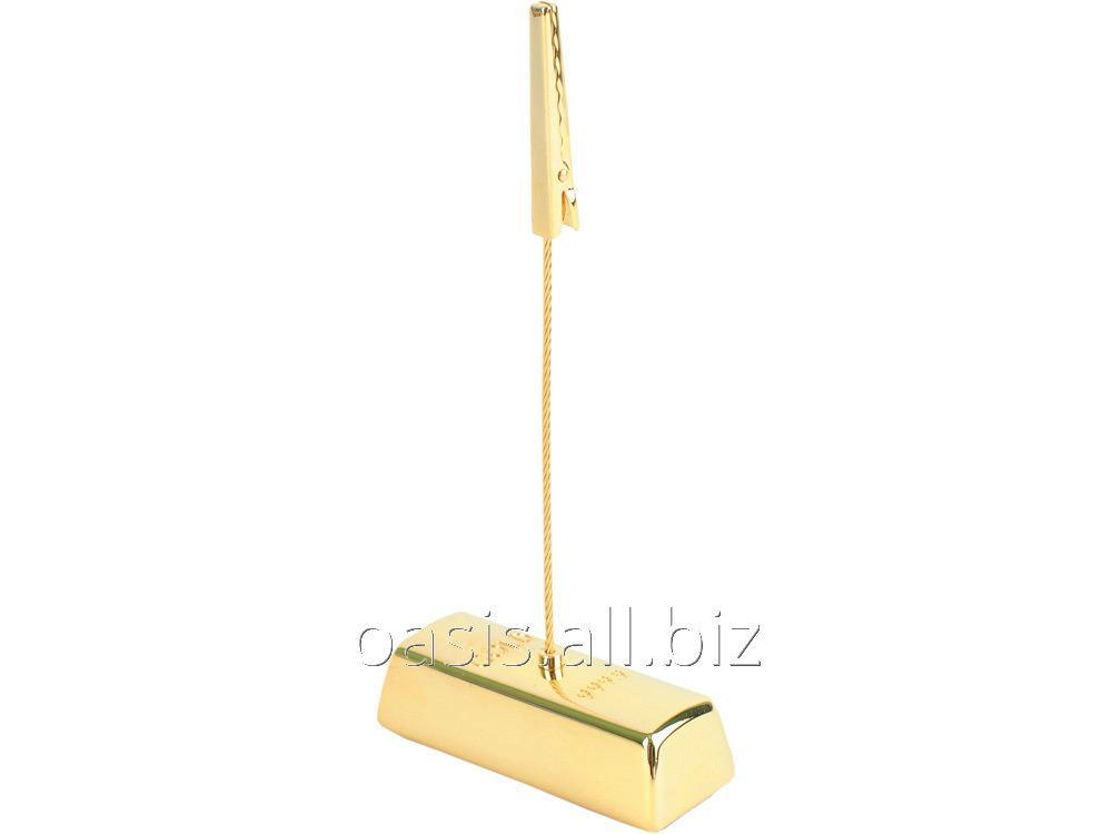 Buy The holder for the documents Gold Ing