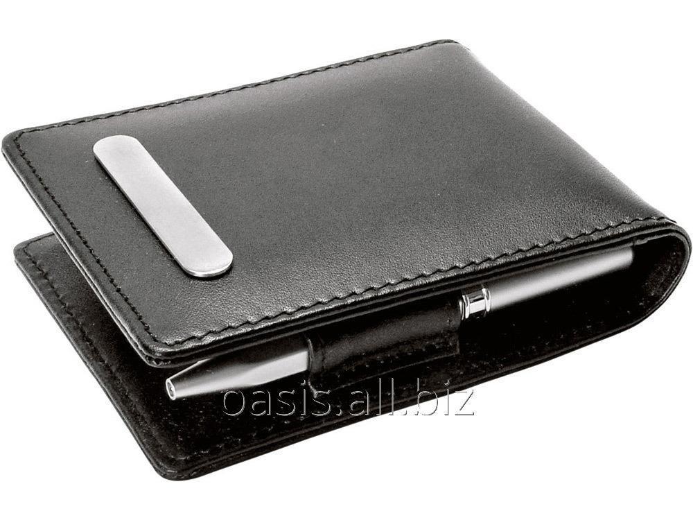 Buy Set: a notebook, a ball pen, a clip for money