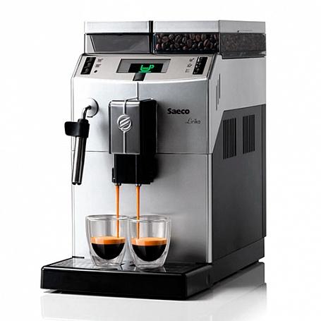 Buy Saeco Lirika Silver Plus coffee machine (215x370x429 mm, 2,5l waters, 500 gr. coffee grains, 1,85kvt)