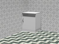 Curbstone bedside stationary TB 01.005.