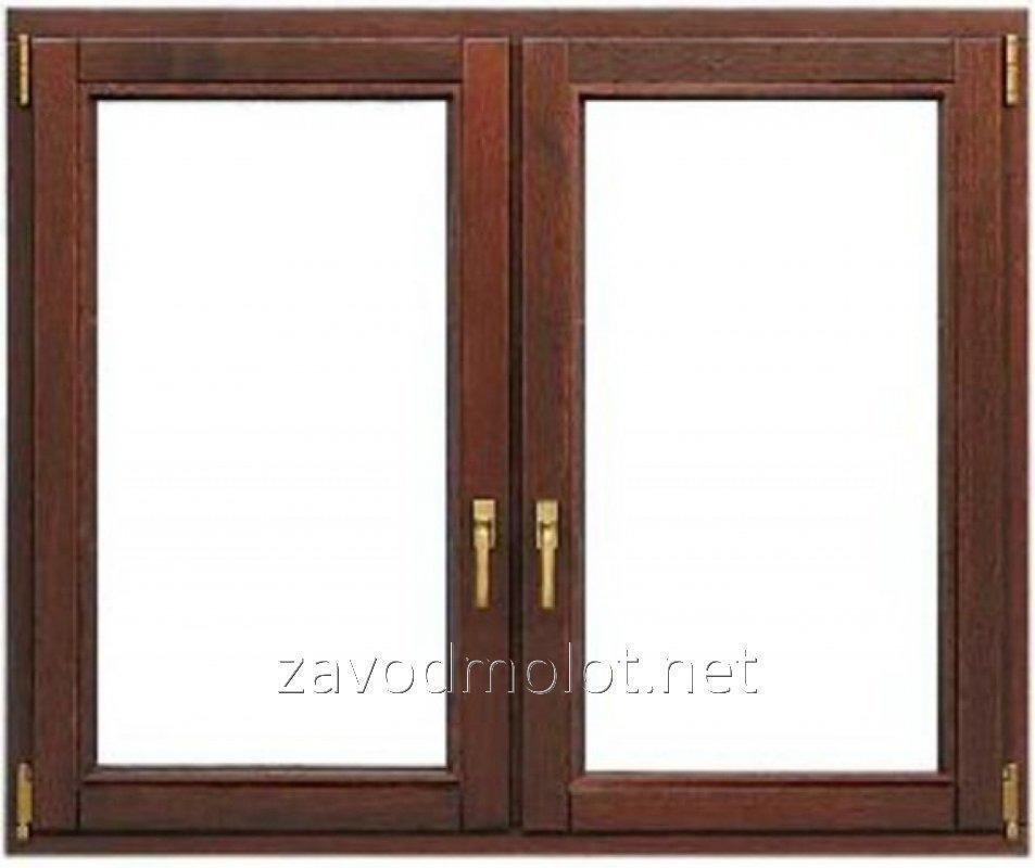 Окно ламинированное