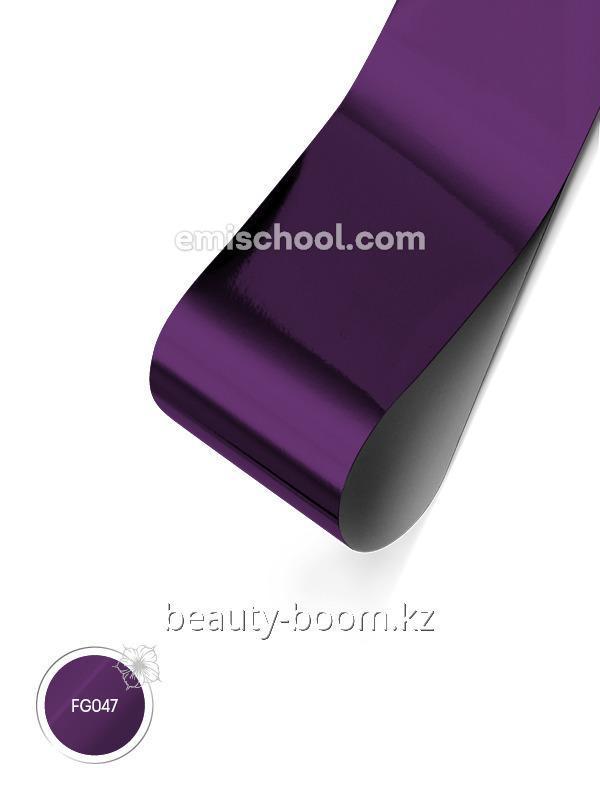 Купить Фольга глянцевая Темно-фиолетовая 1,5 м.