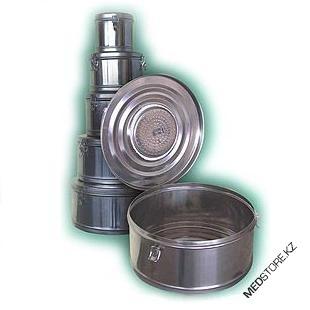 Купить Коробка стерилизационная круглая с фильтром бикс КСКФ-6