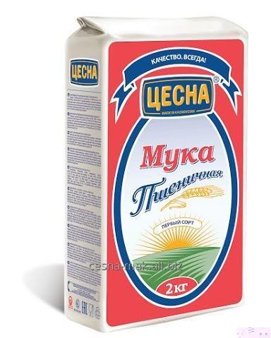 Buy Flour wheaten Tsesna first grade of 2 kg