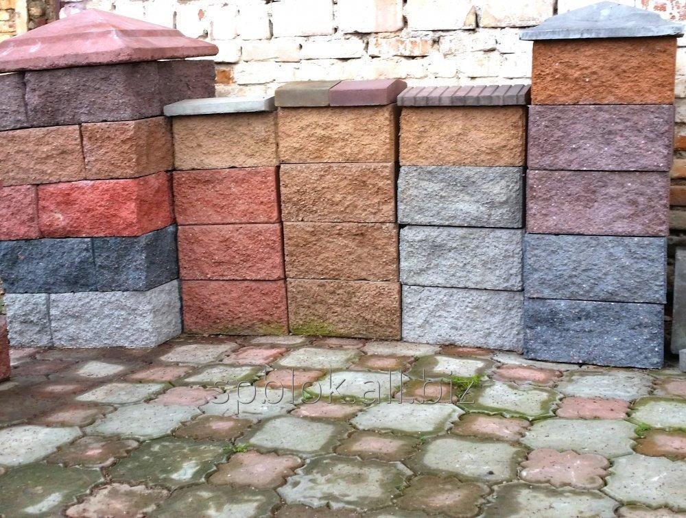 Купить Рваные сплитерные блоки в Алматы