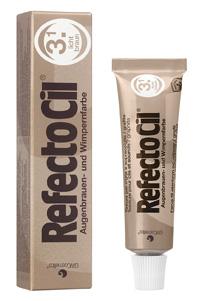 Купить Краска для ресниц и бровей 15ml №3/1 Светло-коричневый RefectoCil