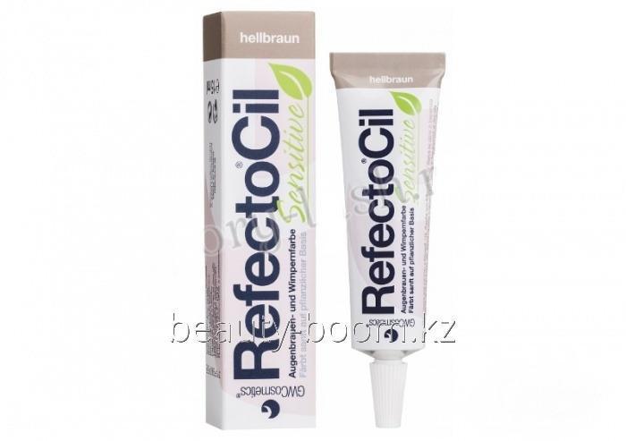 Купить Краска для ресниц и бровей Sensitive 15ml Светло-коричневый RefectoCil