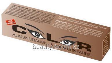 Купить Краска для ресниц и бровей Color Augenbrauen 15ml Коричневая