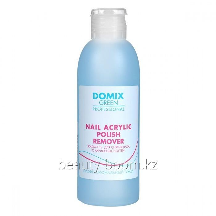 Купить Жидкость для снятия лака с акриловых ногтей Domix 200ml