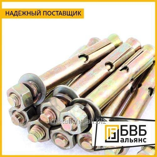 Removable anchor bolt