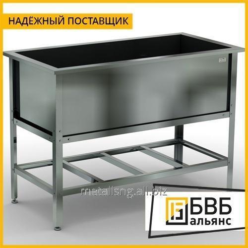 Купить Ванна цельнотянутая приварная для водяной бани 508x306x170 AISI 304 art.D02.VB11170