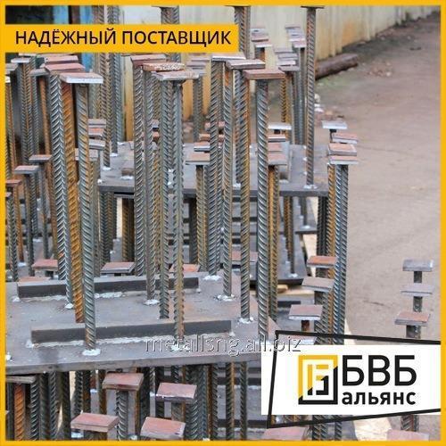 Купить Закладные конструкции ЗК4-1-87 уст. 2 100 мм прямая, с резьбой М18х2