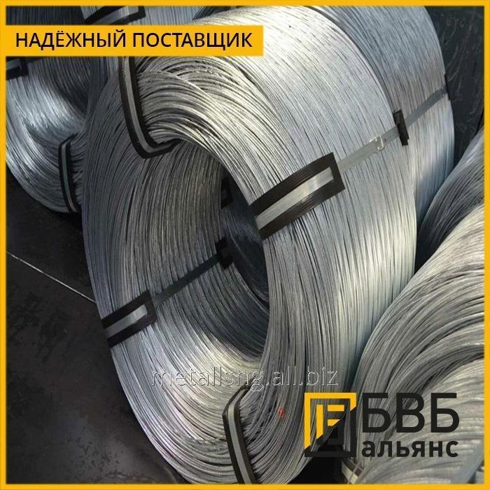 Купить Проволока гвоздильная 0,18 мм 03Х18Н10Т ГОСТ 3282-74 ТНС термонеобработанная