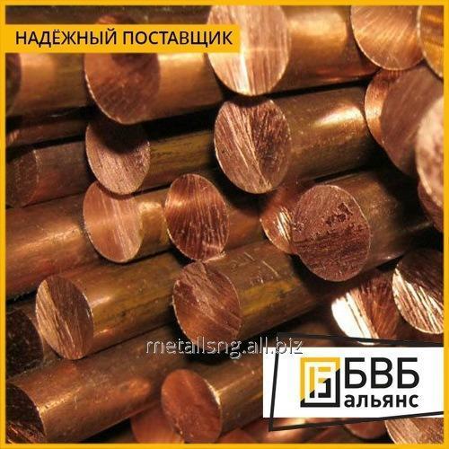 Buy Bar of Brazhmts10-3-1,5 of bronze 180 mm