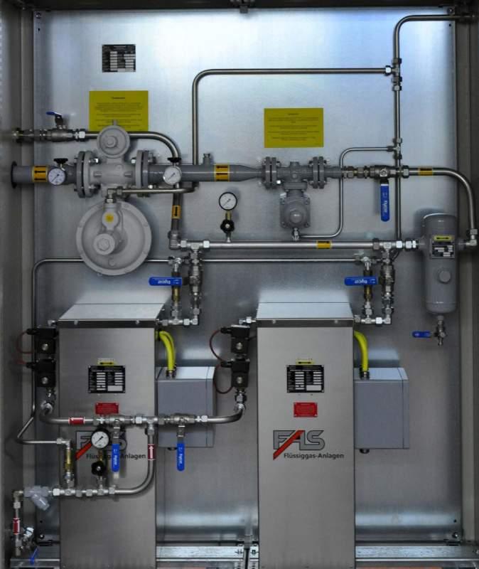 FAS 20322 Испарительная установка FAS 2000 (170кг/ч, давление на выходе 0,03 МПа (30мбар)