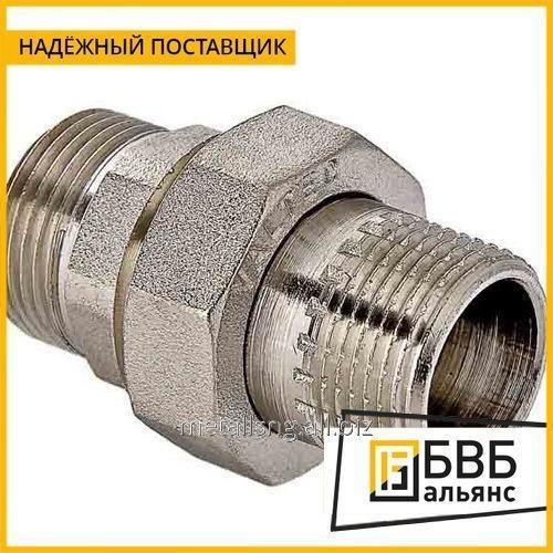"Соединение резьбовое Gas (американка) G 1"" AISI 304 нр/вр"