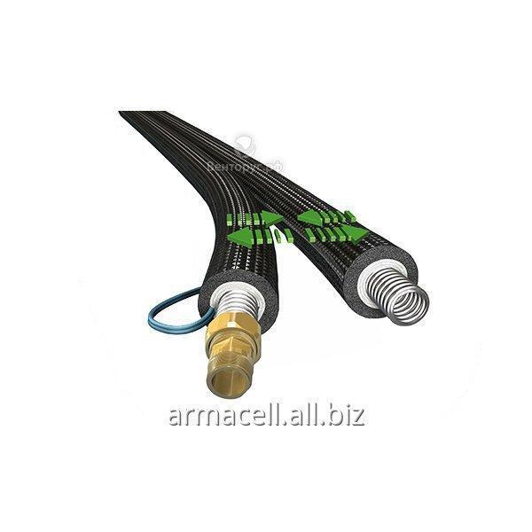 Предварительно изолированная гофрированная труба Armaflex DuoSolar 220