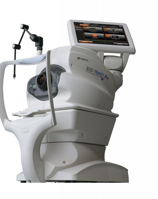 Оптический когерентный томограф 3D OCT-1 Maestro, Topcon