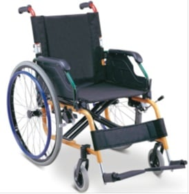 For disabled a chair - a carriage for children
