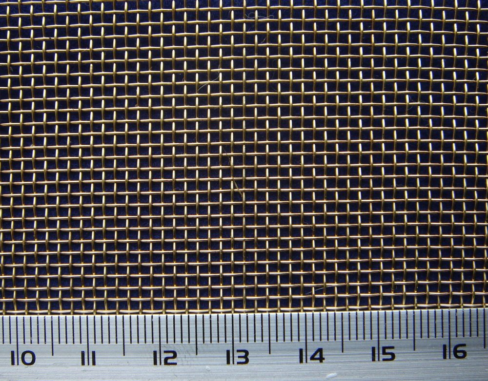 Grid of woven 1.0х0.25х1000 corrosion-proof 12x18h10t gost 3826 in ...
