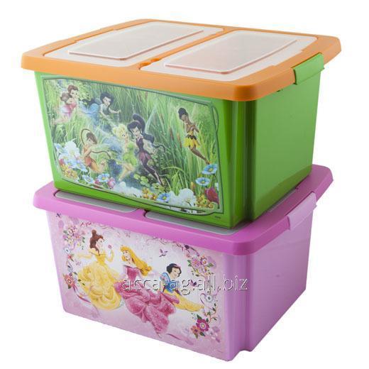 Купить Ящик Disney 30л Принцессы , Феи , Винни , Мини Маус ,Мики Маус Артикул : 48055