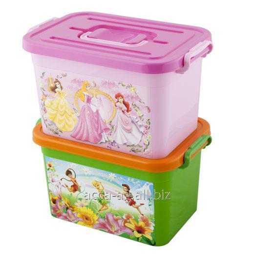 Купить Ящик Disney 6,5л Принцессы , Феи Артикул : 80955