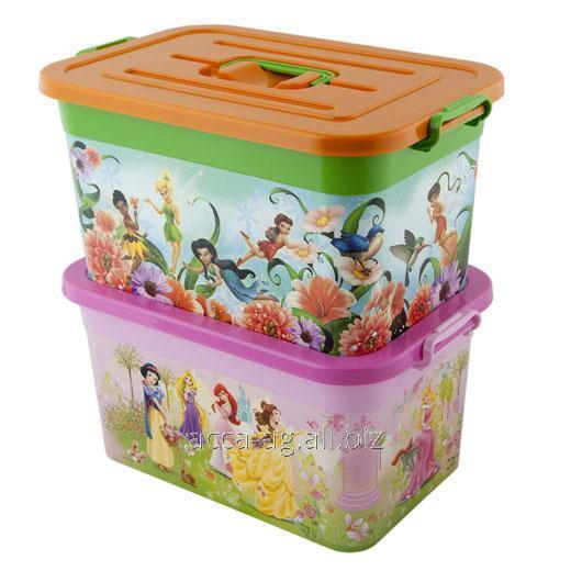 Купить Ящик Disney 15л Принцессы , Феи Артикул : 81155