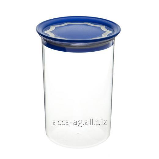 Купить Банка с вакуумной крышкой крышкой 1л для сыпучих продуктов Артикул : 29601