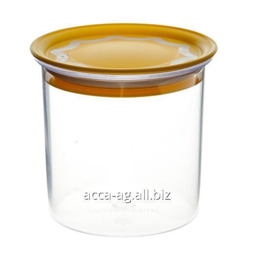 Купить Банка с вакуумной крышкой 0,6л для сыпучих продуктов Артикул : 29701